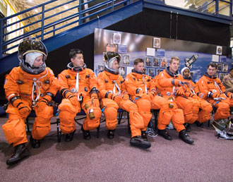 STS-120 crew