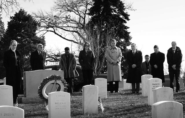 NASA officials at Arlington National Cemetery for the Day of Remembrance. Credit: NASA/Bill Ingalls.