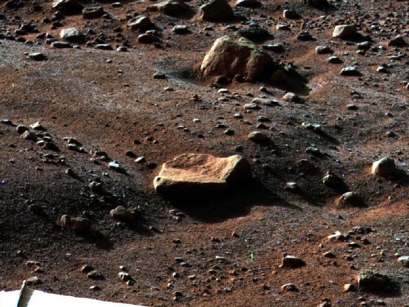 Frost on Mars (NASA)