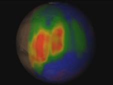 metangas på mars
