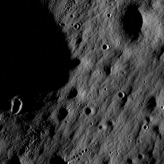 Primeras imagenes de la LRO