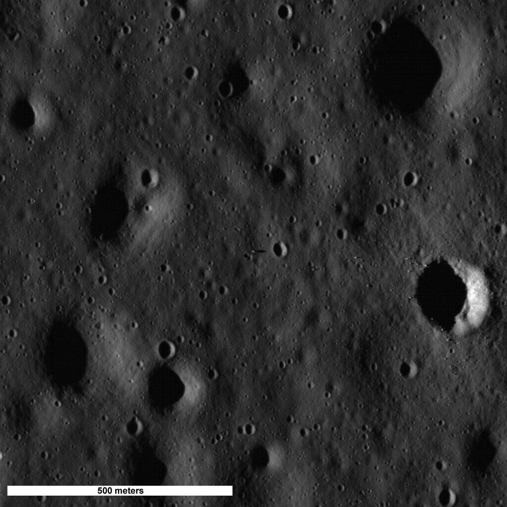 Local de pouso da Eagle do Apollo 11