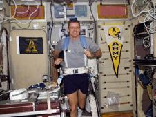 Astronaut Bill McArthur