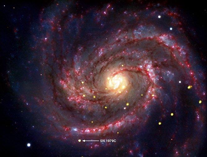 positzione de sa supernova