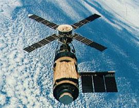 Skylab While She Flew