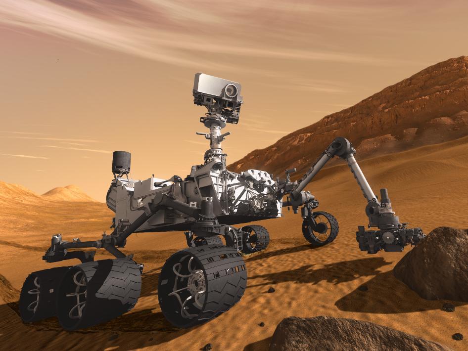 मंगल वाहन 'क्यूरियोसिटी'