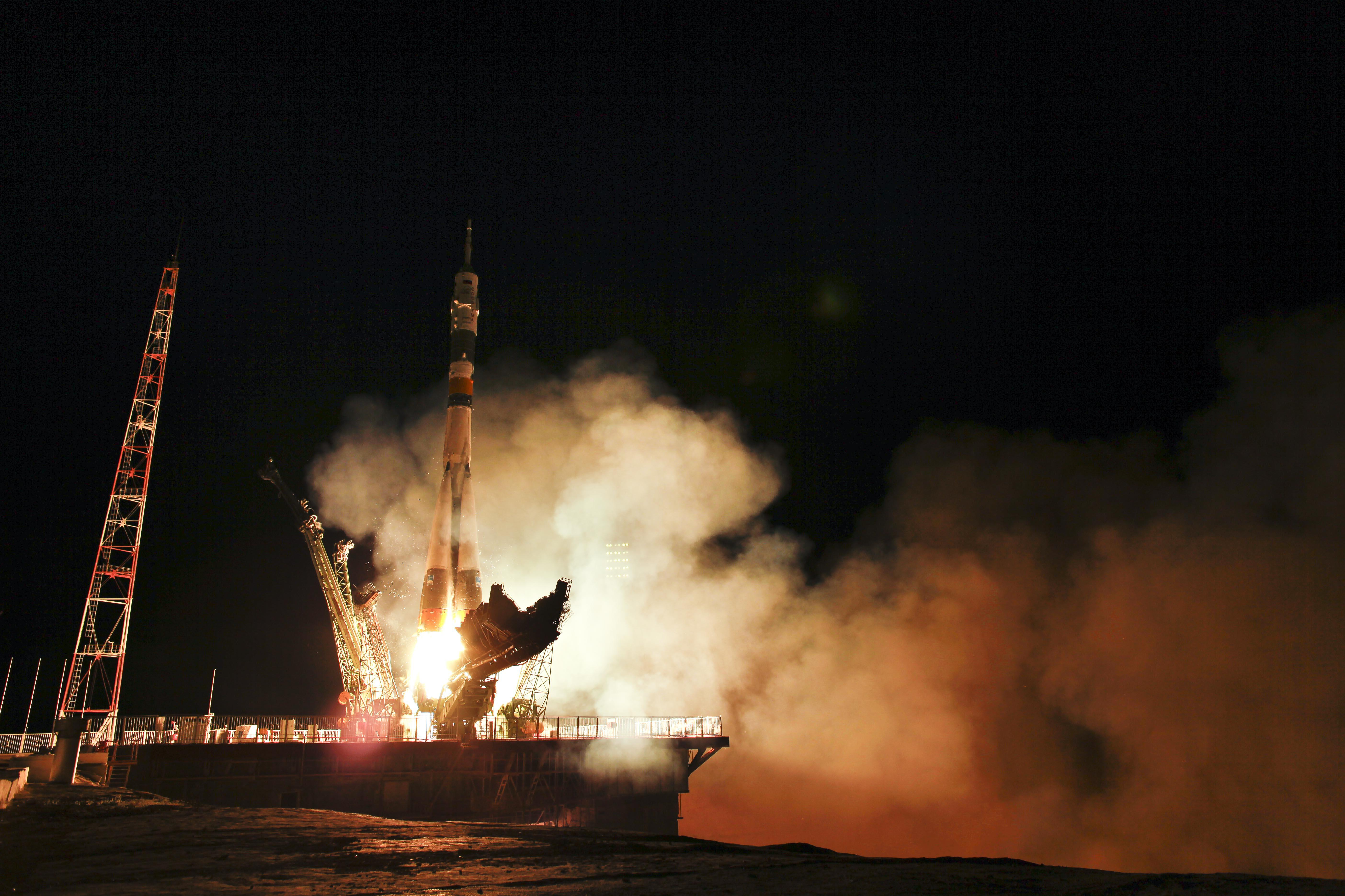 Expedition 28 Lift Off  NASA