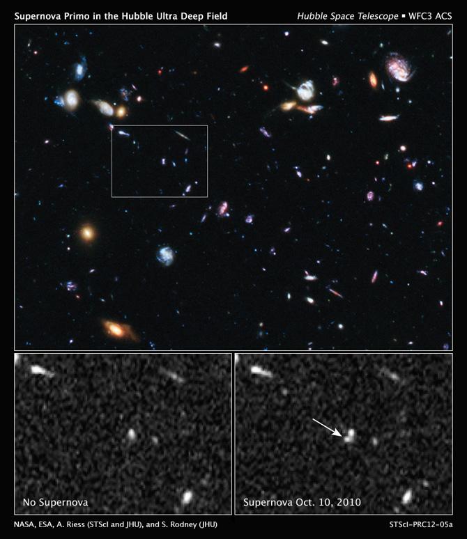 Supernova SN Primo
