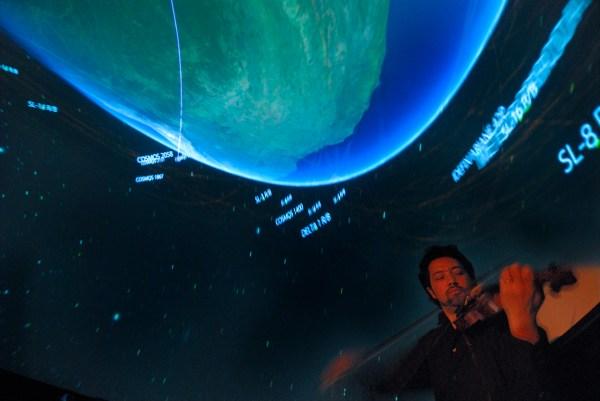 Nasa - 'beautiful Earth' Combines Live Music American