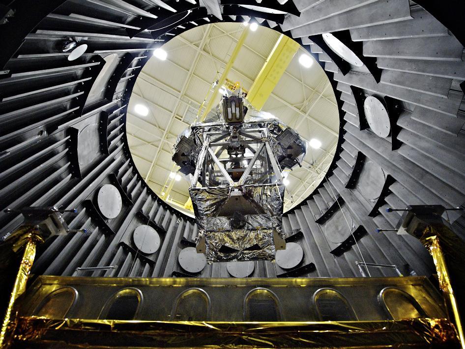 Telescopio James Webb pruebas