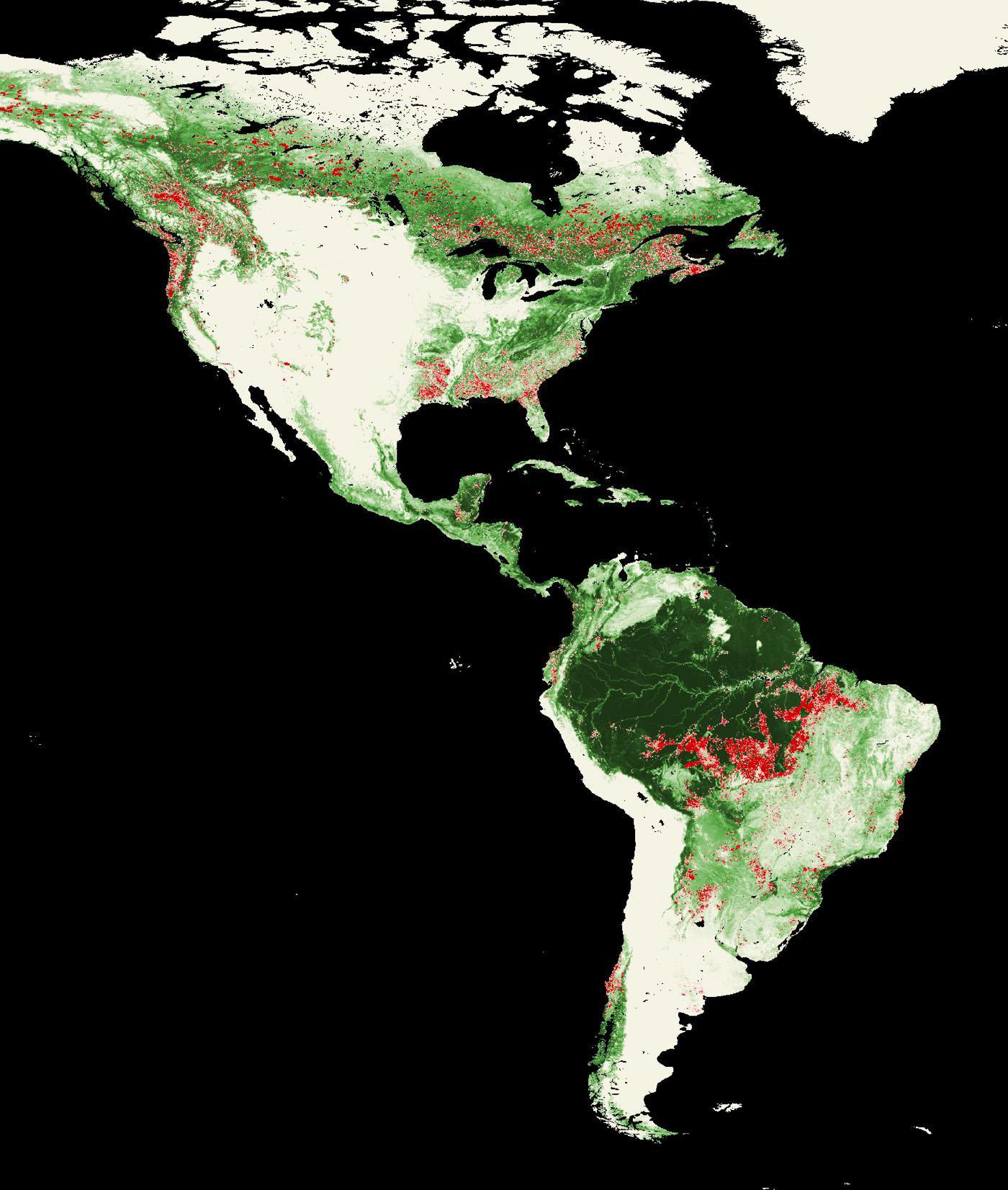 Landsat Top 10 International Deforestation Patterns in Tropical Rainforests  NASA
