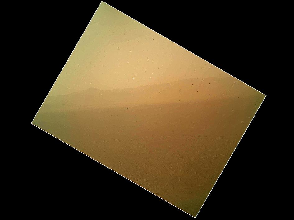 NASA - Curiosity First Color Image (2/2)