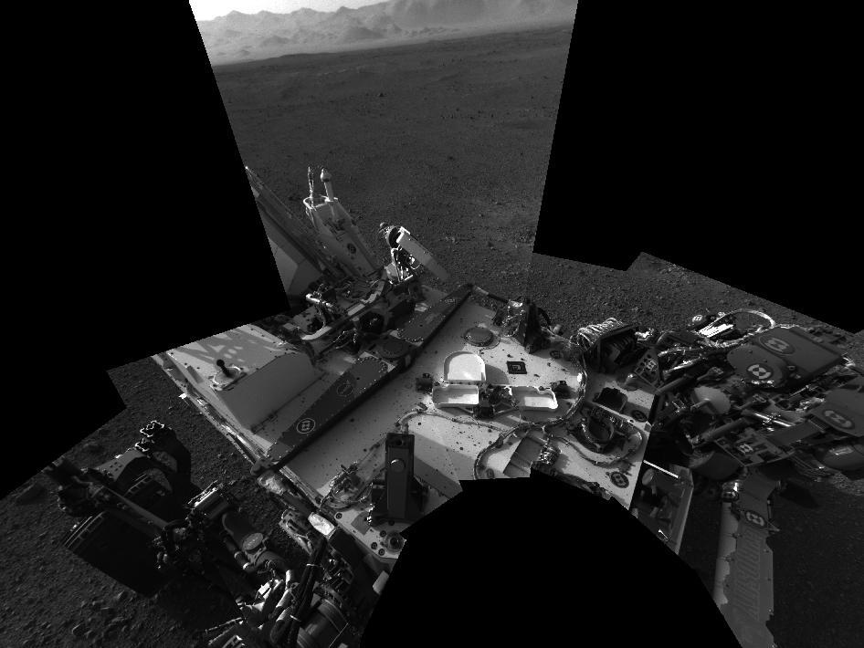MSL Curiosity - explorando sus 360º