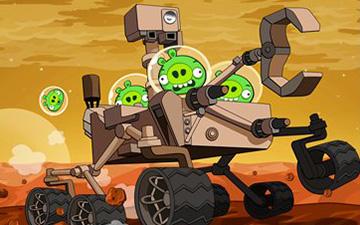 Angry Birds mars update. Credit: Rovio