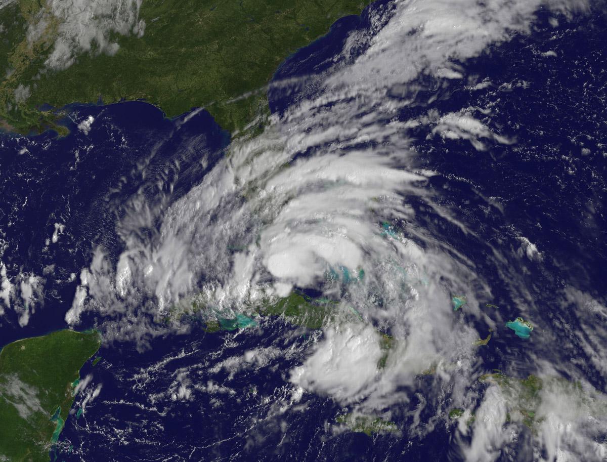 NASA  Hurricane Season 2012 Hurricane Isaac Atlantic Ocean
