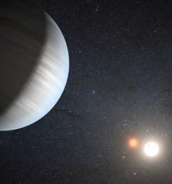 kepler finds a planet in a binary star s habitable zone [ 4268 x 2400 Pixel ]