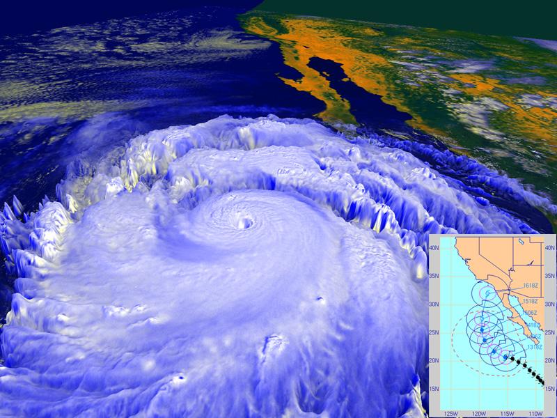 NASA Could A Hurricane Ever Strike Southern California?