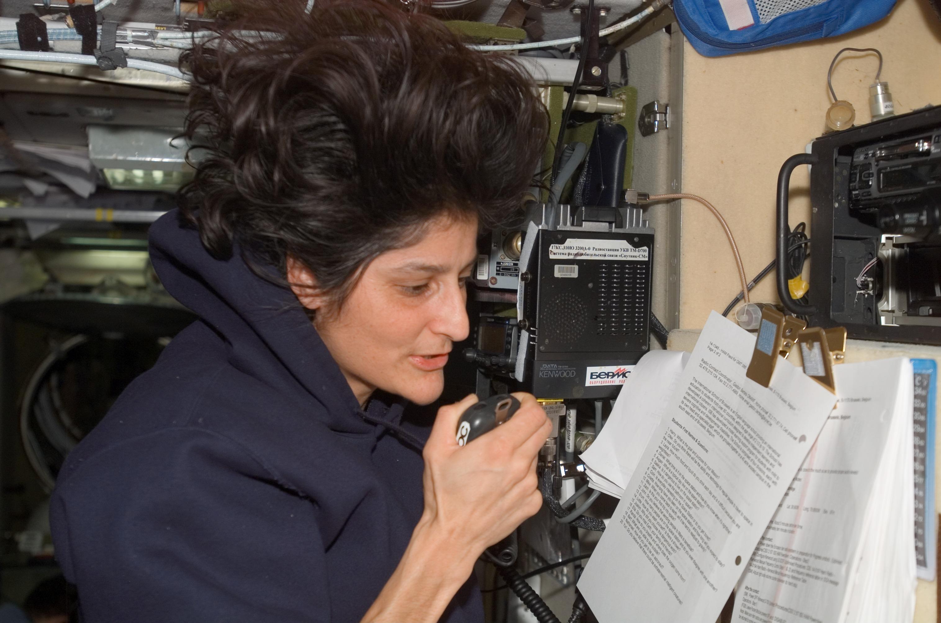 Mast Girl Wallpaper Nasa International Space Station Ham Radio Also Known