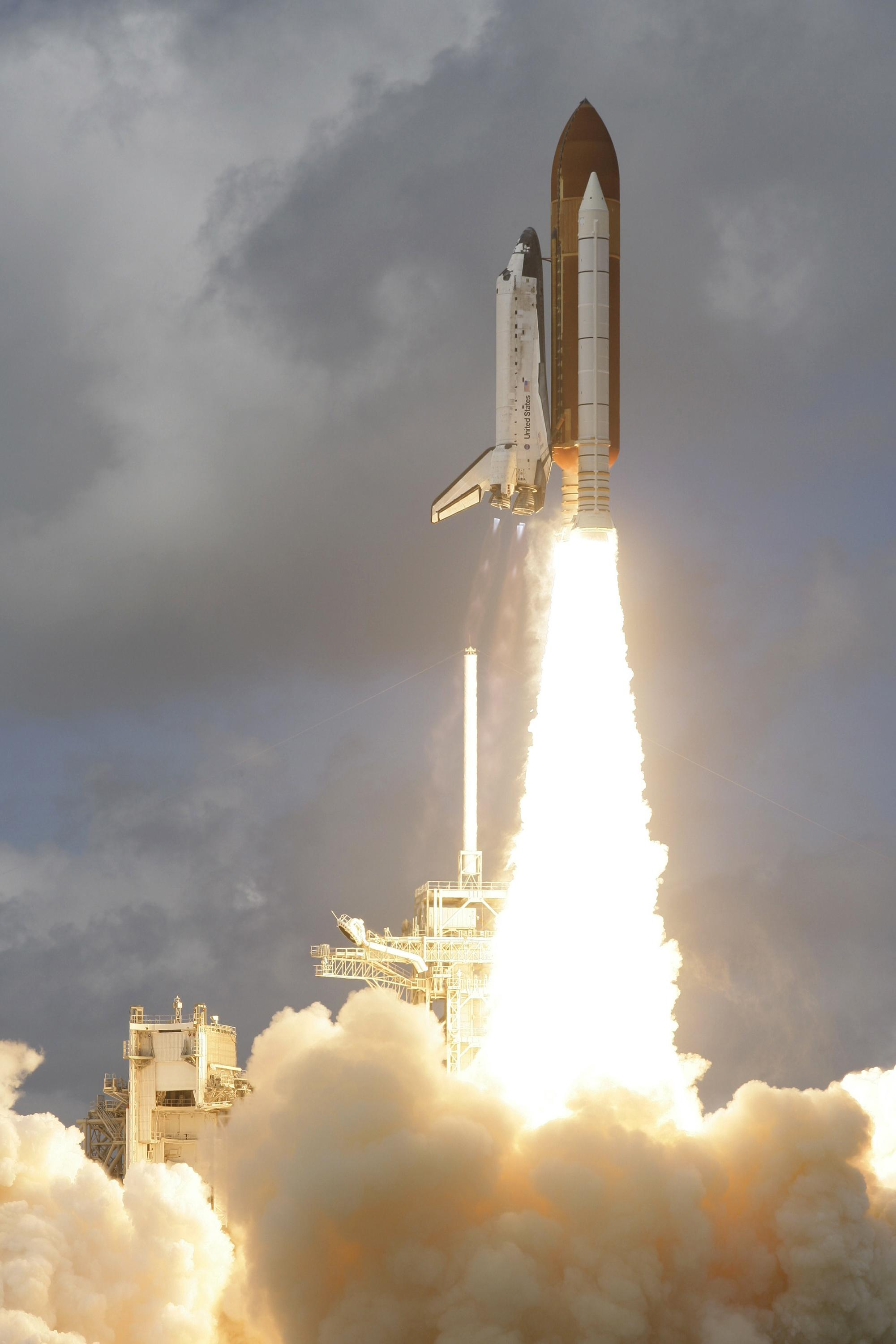 Discovery Lifts Off! | NASA