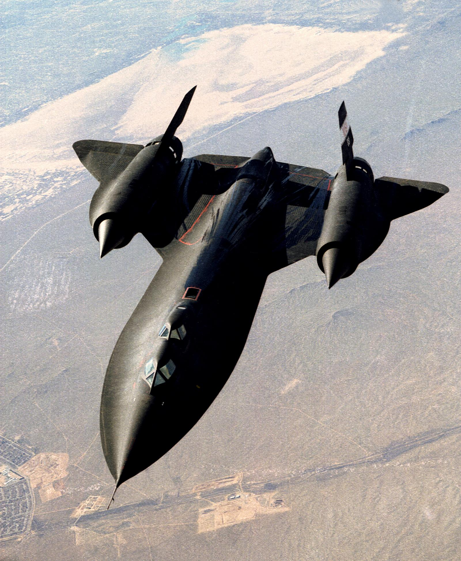 sr 71 blackbird nasa