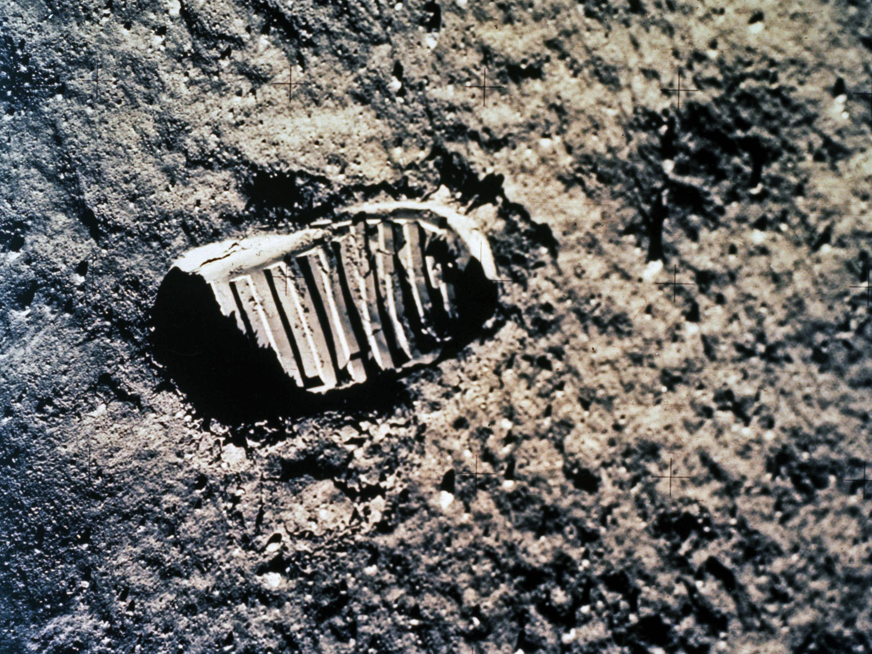 Image result for moon footprint