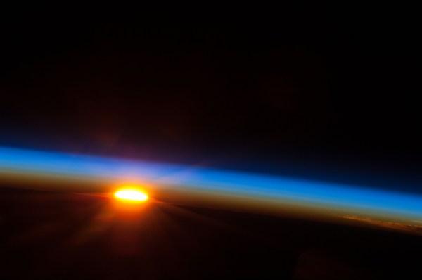 Sunrise Over Earth Nasa - Pics Space