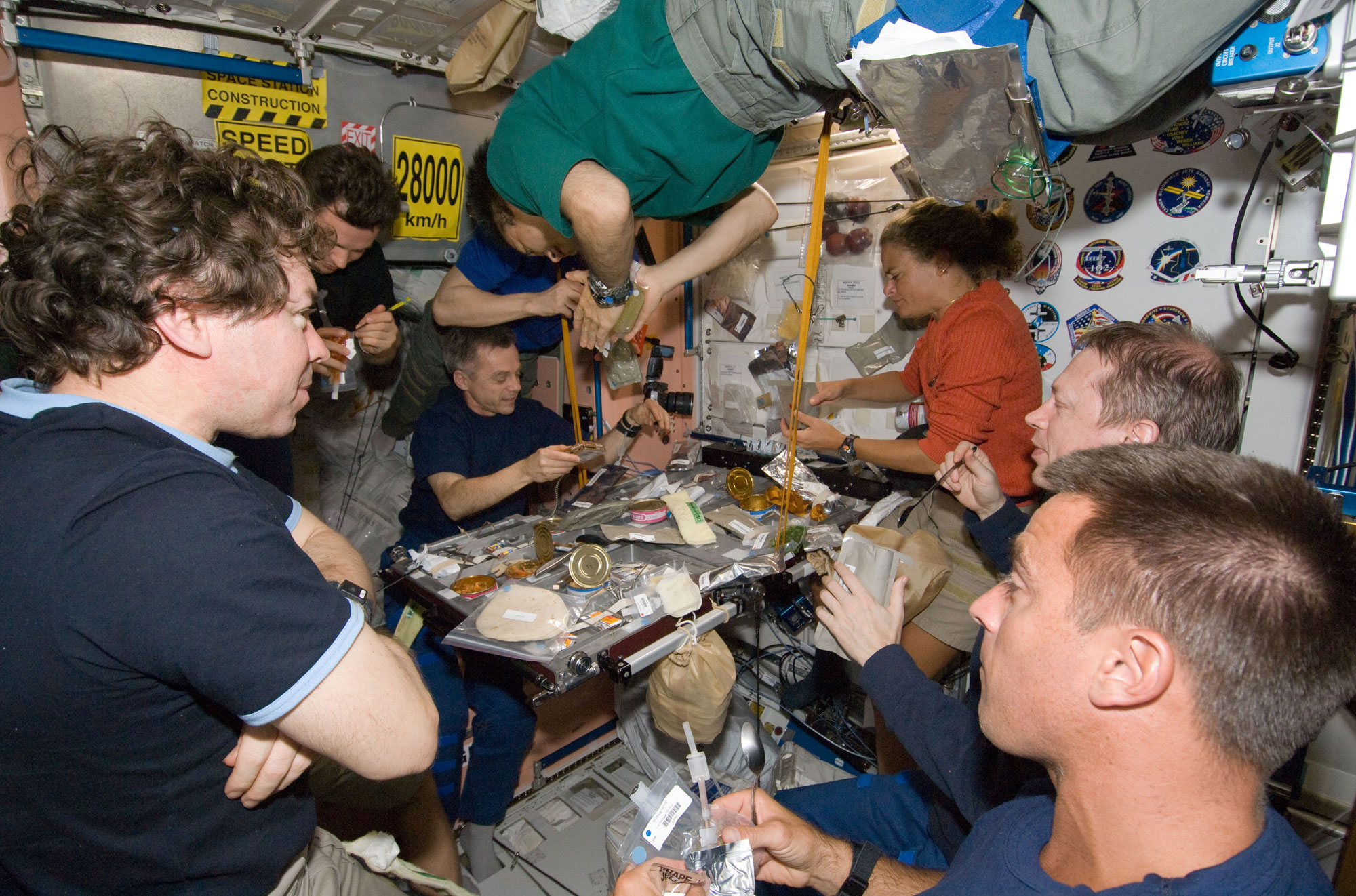 Nasa Astronauts Invite National Geographic Aboard Space