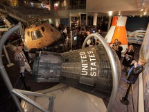 Four Space Capsules United In Exhibit Nasa