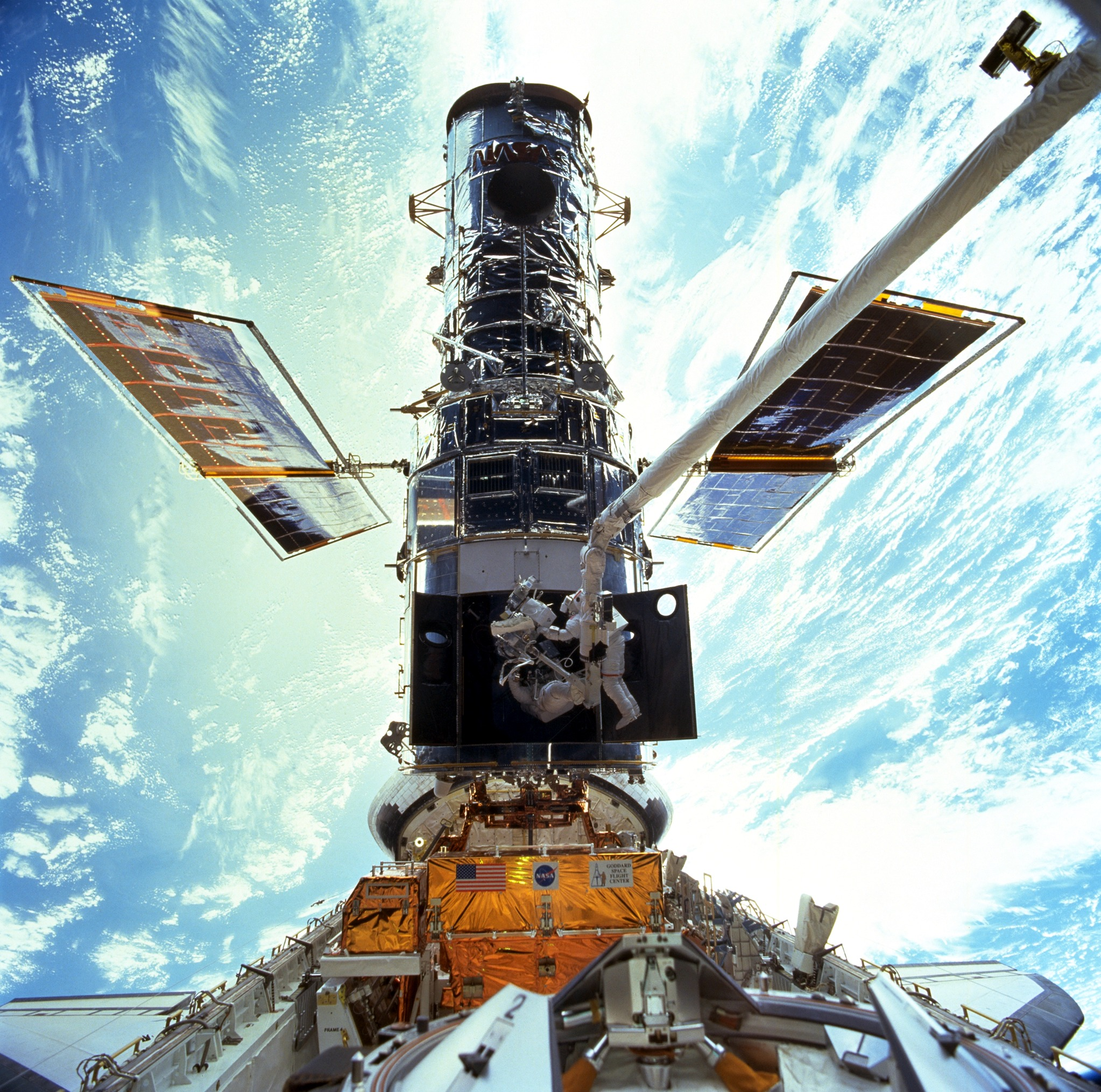 Hubble Space Telescope Gets An Upgrade