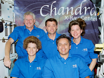 Fifteen Years Ago, Chandra X-Ray Observatory Deployed by Space Shuttle Crew