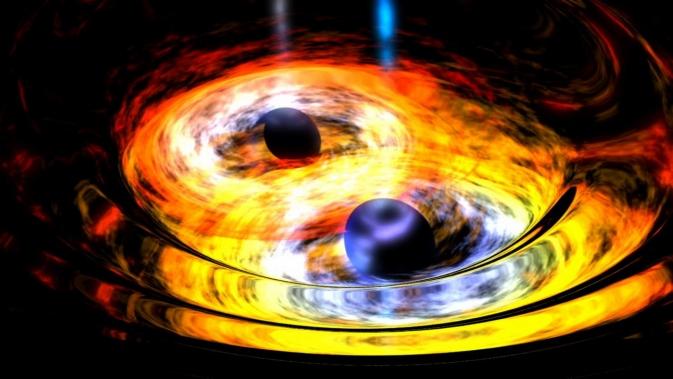 Black holes dancing
