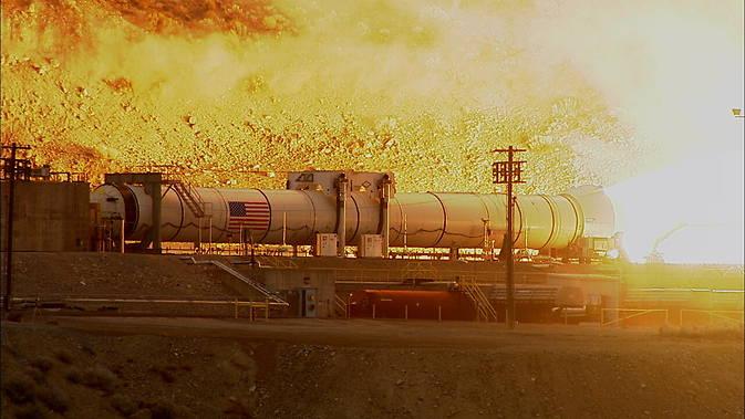 QM-1 booster firing