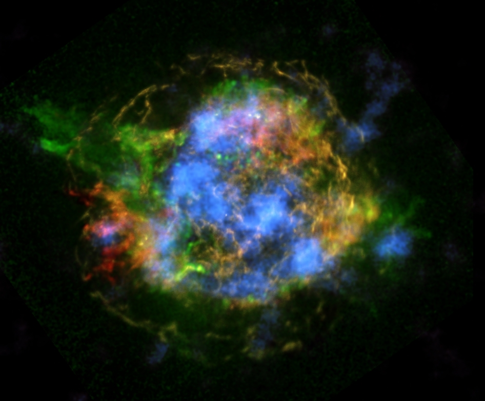 This is the first map of radioactivity in a supernova remnant
