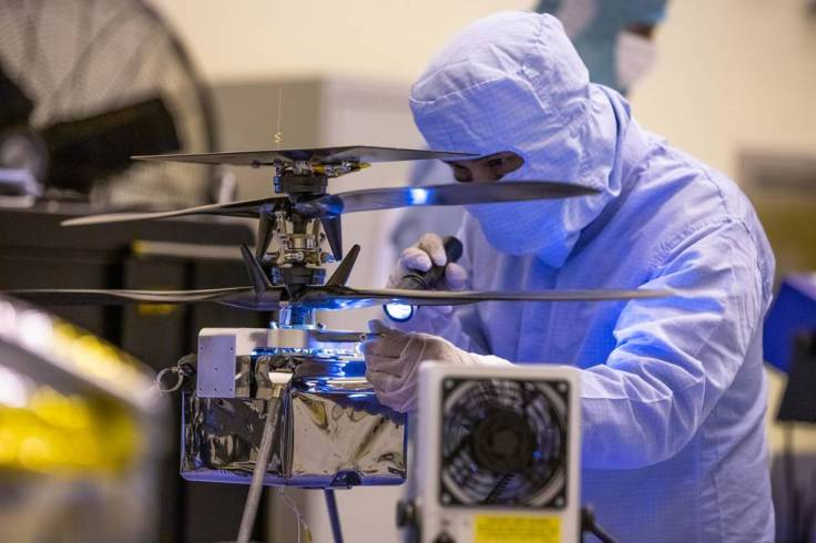 Attached to the Mars Perseverance rover, the NASA Mars Helicopter will be the first aircraft to fly on another planet.