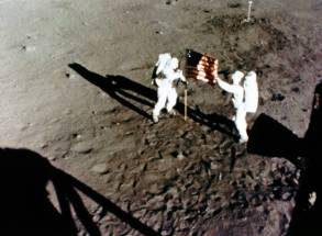 apollo_11_armstrong_aldrin_setting_up_flag_frame_from_16_mm