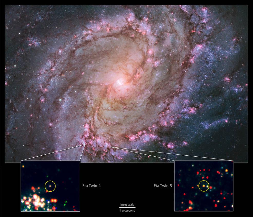 jumeaux Eta Carinae