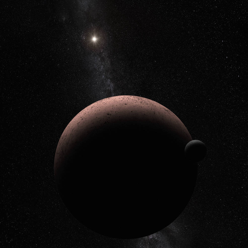 First moon discovered around dwarf planet Makemake