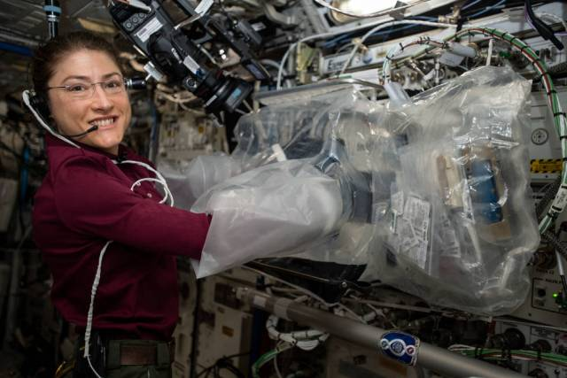 Expedition 60 Flight Engineer Christina Koch
