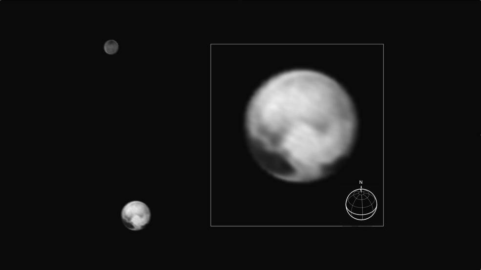 Pluto as seen by New Horizons on July 1 (NASA/JPL/SWRI)