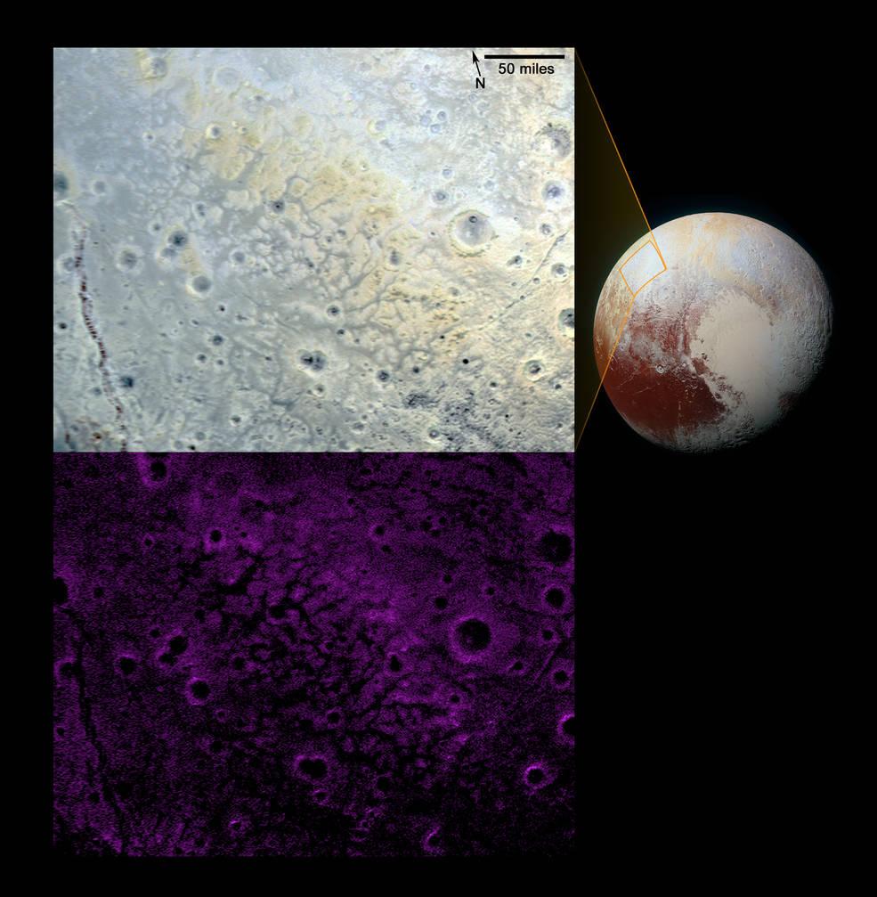 Pluto's informally named Venera Terra region