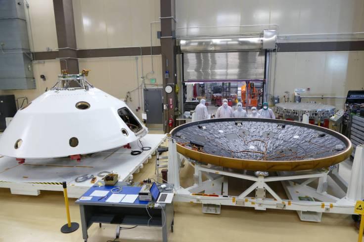 MEDLI2 installation on Mars2020