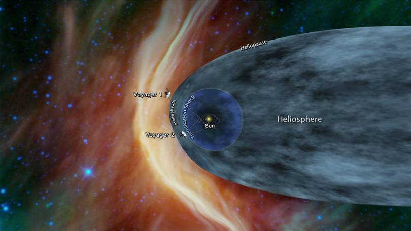 pia22566 16 - Onde esta a Voyager2? NASA afirma que a sonda se aproxima do espaço interestelar
