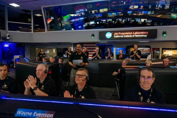 Spitzer Project Scientists Declares End of Mission