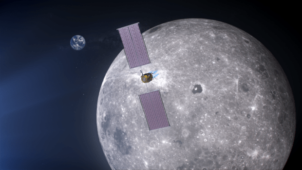 The power and propulsion element provides a communications relay capability for NASA's Gateway