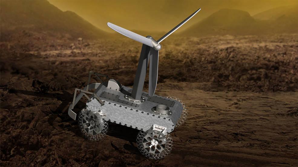 Venus rover concept