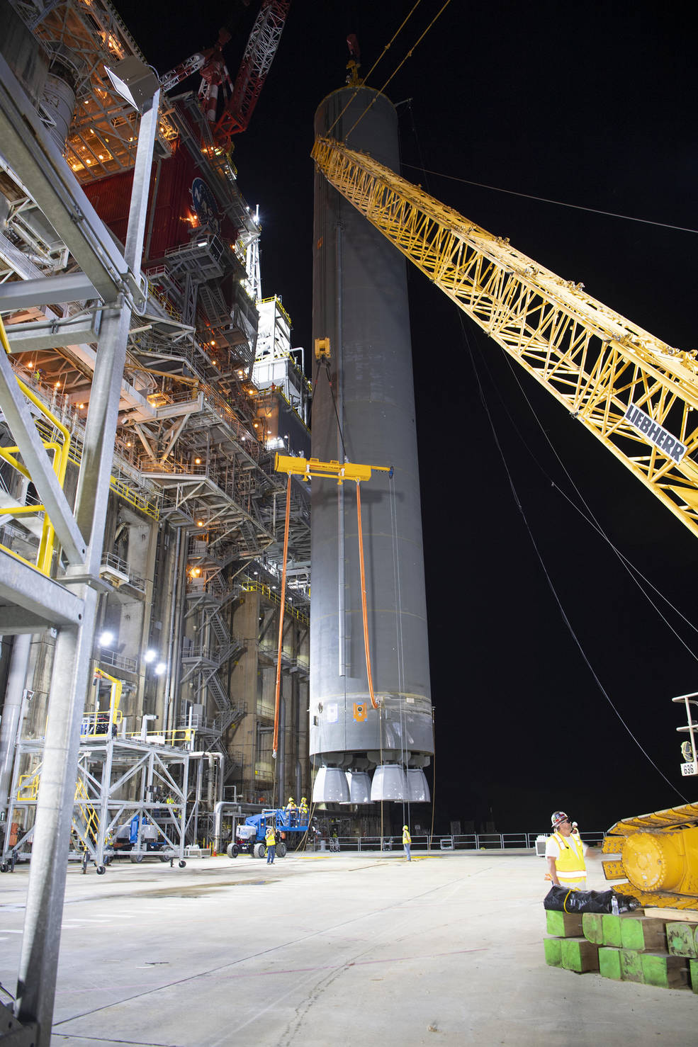 The lift of the core stage pathfinder, Part 2