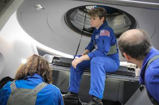 SpaceX Crew Dragon Egress Training