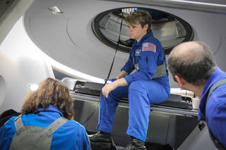SpaceX Crew Dragon Egress Training