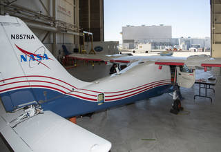 NASA engineers put the X-57 through its initial telemetry tests at AFRC.