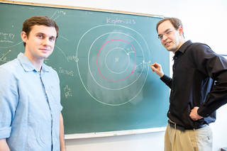 Sean Mills (left) and Daniel Fabrycky (right)